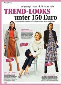 Titelbild der Ausgabe 43/2019 von Angesagt muss nicht teuer sein: TREND-LOOKS unter 150 Euro. Zeitschriften als Abo oder epaper bei United Kiosk online kaufen.