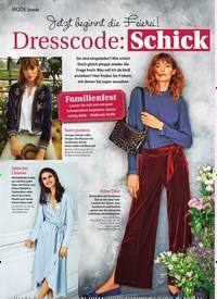 Titelbild der Ausgabe 44/2019 von Trends: Dresscode: Schick. Zeitschriften als Abo oder epaper bei United Kiosk online kaufen.