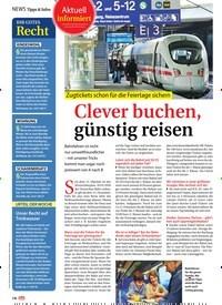 Titelbild der Ausgabe 44/2019 von Tipps & Infos: Clever buchen, günstig reisen. Zeitschriften als Abo oder epaper bei United Kiosk online kaufen.
