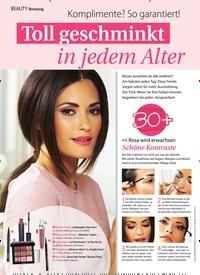 Titelbild der Ausgabe 44/2019 von Beratung: Toll geschminkt in jedem Alter. Zeitschriften als Abo oder epaper bei United Kiosk online kaufen.