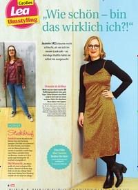 """Titelbild der Ausgabe 45/2019 von Großes: Lea Umstyling: """"Wie schön – bin das wirklich ich?!"""". Zeitschriften als Abo oder epaper bei United Kiosk online kaufen."""