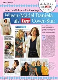 Titelbild der Ausgabe 46/2019 von Hinter den Kulissen des Shootings: Wiesn-Mädel Daniela als Cover-Star. Zeitschriften als Abo oder epaper bei United Kiosk online kaufen.