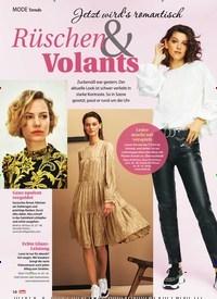 Titelbild der Ausgabe 47/2019 von Rüschen & Volants. Zeitschriften als Abo oder epaper bei United Kiosk online kaufen.