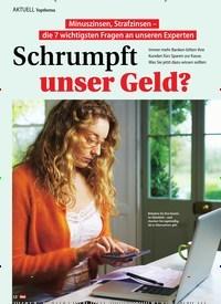 Titelbild der Ausgabe 47/2019 von Topthema: Schrumpft unser Geld?. Zeitschriften als Abo oder epaper bei United Kiosk online kaufen.