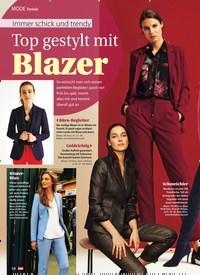 Titelbild der Ausgabe 48/2019 von Immer schick und trendy: Top gestylt mit Blazer. Zeitschriften als Abo oder epaper bei United Kiosk online kaufen.