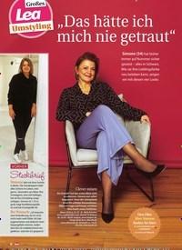 """Titelbild der Ausgabe 50/2019 von Großes Lea Umstyling """"Das hätte ich mich nie getraut"""". Zeitschriften als Abo oder epaper bei United Kiosk online kaufen."""
