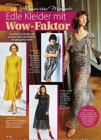 Titelbild der Ausgabe 51/2019 von Trends: Glamouröse Momente: Edle Kleider mit Wow-Faktor. Zeitschriften als Abo oder epaper bei United Kiosk online kaufen.