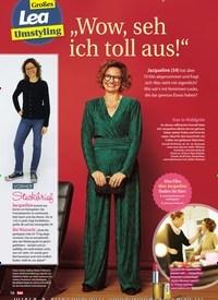 """Titelbild der Ausgabe 52/2019 von Großes Lea Umstyling: """"Wow, seh ich toll aus!"""". Zeitschriften als Abo oder epaper bei United Kiosk online kaufen."""