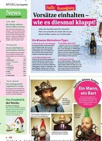 Titelbild der Ausgabe 1/2020 von Hallo Neuanfang: Vorsätze einhalten – wie es diesmal klappt!. Zeitschriften als Abo oder epaper bei United Kiosk online kaufen.