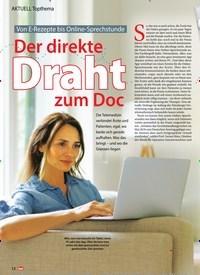 Titelbild der Ausgabe 3/2020 von Der direkte Draht zum Doc. Zeitschriften als Abo oder epaper bei United Kiosk online kaufen.