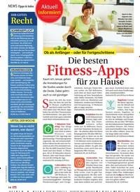 Titelbild der Ausgabe 3/2020 von Ob als Anfänger – oder für Fortgeschrittene: Die besten Fitness-Apps für zu Hause. Zeitschriften als Abo oder epaper bei United Kiosk online kaufen.