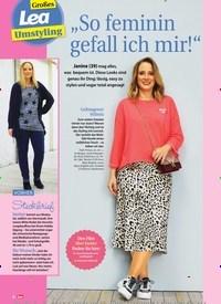 """Titelbild der Ausgabe 5/2020 von Großes Lea Umstyling: """"So feminin gefall ich mir!"""". Zeitschriften als Abo oder epaper bei United Kiosk online kaufen."""