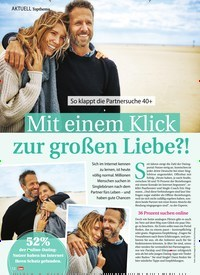 Titelbild der Ausgabe 5/2020 von Topthema: Mit einem Klick zur großen Liebe?!. Zeitschriften als Abo oder epaper bei United Kiosk online kaufen.