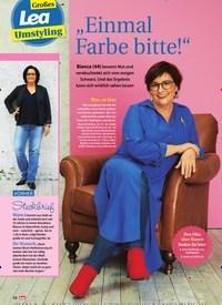 """Titelbild der Ausgabe 6/2020 von Großes Lea Umstyling: """"Einmal Farbe bitte!"""". Zeitschriften als Abo oder epaper bei United Kiosk online kaufen."""