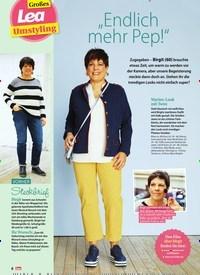 """Titelbild der Ausgabe 7/2020 von Großes Lea Umstyling: """"Endlich mehr Pep!"""". Zeitschriften als Abo oder epaper bei United Kiosk online kaufen."""