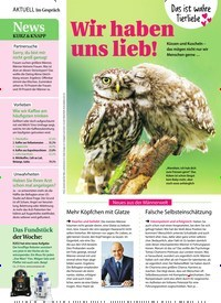 Titelbild der Ausgabe 8/2020 von Im Gespräch: Wir haben uns lieb!. Zeitschriften als Abo oder epaper bei United Kiosk online kaufen.