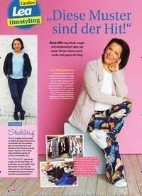 """Titelbild der Ausgabe 8/2020 von Großes Lea Umstyling: """"Diese Muster sind der Hit!"""". Zeitschriften als Abo oder epaper bei United Kiosk online kaufen."""
