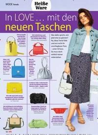 Titelbild der Ausgabe 8/2020 von Trends: In LOVE … mit den neuen Taschen. Zeitschriften als Abo oder epaper bei United Kiosk online kaufen.