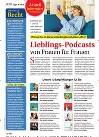 Titelbild der Ausgabe 8/2020 von Lieblings-Podcasts von Frauen für Frauen. Zeitschriften als Abo oder epaper bei United Kiosk online kaufen.