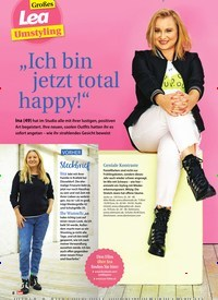 """Titelbild der Ausgabe 9/2020 von Großes Lea Umstyling: """"Ich bin jetzt total happy!"""". Zeitschriften als Abo oder epaper bei United Kiosk online kaufen."""