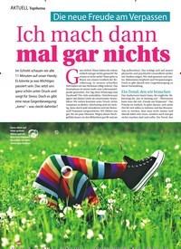 Titelbild der Ausgabe 11/2020 von AKTUELL Topthema: Die neue Freude am Verpassen: Ich mach dann mal gar nichts. Zeitschriften als Abo oder epaper bei United Kiosk online kaufen.