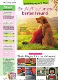 """Titelbild der Ausgabe 42/2020 von Zum Welthundetag am 10. Oktober: Ein """"Wuff"""" auf unseren besten Freund. Zeitschriften als Abo oder epaper bei United Kiosk online kaufen."""