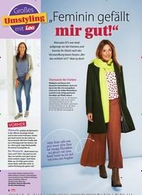 """Titelbild der Ausgabe 42/2020 von Großes Umstyling mit Lea """"Feminin gefällt mir gut!"""". Zeitschriften als Abo oder epaper bei United Kiosk online kaufen."""