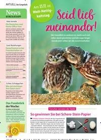 Titelbild der Ausgabe 47/2020 von Im Gespräch: Am 13.11. ist Welt-Nettigkeitstag: Seid lieb zueinander!. Zeitschriften als Abo oder epaper bei United Kiosk online kaufen.