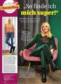 """Titelbild der Ausgabe 47/2020 von Großes Lea Umstyling mit asam beauty: """"So finde ich mich super!"""". Zeitschriften als Abo oder epaper bei United Kiosk online kaufen."""