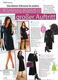 Titelbild der Ausgabe 47/2020 von Beratung: Das Kleine Schwarze 9x anders: Kleines Kleid - großer Auftritt. Zeitschriften als Abo oder epaper bei United Kiosk online kaufen.