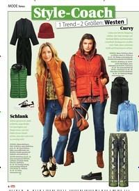 Titelbild der Ausgabe 48/2020 von News: Style-Coach: 1 Trend – 2 Größen: Westen. Zeitschriften als Abo oder epaper bei United Kiosk online kaufen.