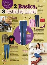 Titelbild der Ausgabe 48/2020 von Trends: Gut gestylt von Kopf bis Fuß: 2 Basics, 8 festliche Looks. Zeitschriften als Abo oder epaper bei United Kiosk online kaufen.