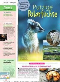 Titelbild der Ausgabe 49/2020 von Putzige Polarfüchse. Zeitschriften als Abo oder epaper bei United Kiosk online kaufen.