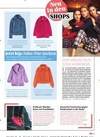 Titelbild der Ausgabe 49/2020 von Neu in den SHOPS: ZUM EINKUSCHELN: SÜSSE HOMEWEAR. Zeitschriften als Abo oder epaper bei United Kiosk online kaufen.