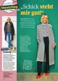 """Titelbild der Ausgabe 49/2020 von Großes Umstyling mit Alba Moda: """"Schick steht mir gut!"""". Zeitschriften als Abo oder epaper bei United Kiosk online kaufen."""