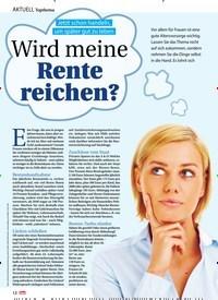 Titelbild der Ausgabe 49/2020 von Topthema: Jetzt schon handeln, um später gut zu leben: Wird meine Rente reichen?. Zeitschriften als Abo oder epaper bei United Kiosk online kaufen.