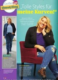 """Titelbild der Ausgabe 53/2020 von Großes Lea Umstyling: """"Tolle Styles für meine Kurven!"""". Zeitschriften als Abo oder epaper bei United Kiosk online kaufen."""