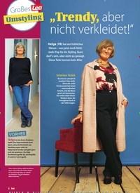 """Titelbild der Ausgabe 1/2021 von Großes Lea Umstyling: """"Trendy, aber nicht verkleidet!"""". Zeitschriften als Abo oder epaper bei United Kiosk online kaufen."""