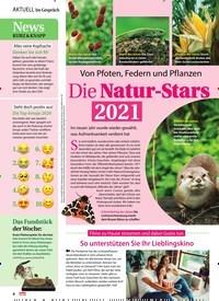 Titelbild der Ausgabe 2/2021 von Von Pfoten, Federn und Pflanzen: Die Natur-Stars 2021. Zeitschriften als Abo oder epaper bei United Kiosk online kaufen.