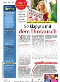 Titelbild der Ausgabe 2/2021 von So klappt's mit dem Umtausch. Zeitschriften als Abo oder epaper bei United Kiosk online kaufen.