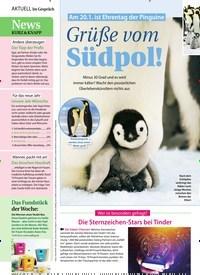 Titelbild der Ausgabe 3/2021 von Am 20.1. ist Ehrentag der Pinguine: Grüße vom Südpol!. Zeitschriften als Abo oder epaper bei United Kiosk online kaufen.