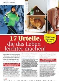 Titelbild der Ausgabe 3/2021 von Ohne Streit und ohne Stress: 17 Urteile, die das Leben leichter machen!. Zeitschriften als Abo oder epaper bei United Kiosk online kaufen.