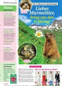 Titelbild der Ausgabe 5/2021 von Im Gespräch: Am 2. Februar ist sein Ehrentag: Liebes Murmeltier, bring uns den Frühling!. Zeitschriften als Abo oder epaper bei United Kiosk online kaufen.