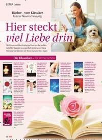 Titelbild der Ausgabe 7/2021 von EXTRA Gefühle: Bücher - vom Klassiker bis zur Neuerscheinung: Hier steckt viel Liebe drin. Zeitschriften als Abo oder epaper bei United Kiosk online kaufen.
