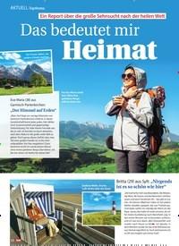 Titelbild der Ausgabe 9/2021 von Topthema: Ein Report über die große Sehnsucht nach der heilen Welt: Das bedeutet mir Heimat. Zeitschriften als Abo oder epaper bei United Kiosk online kaufen.