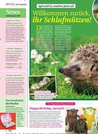 Titelbild der Ausgabe 10/2021 von Im Gespräch: Willkommen zurück, ihr Schlafmützen!. Zeitschriften als Abo oder epaper bei United Kiosk online kaufen.
