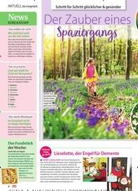 Titelbild der Ausgabe 11/2021 von Schritt für Schritt glücklicher & gesünder: Der Zauber eines Spaziergangs. Zeitschriften als Abo oder epaper bei United Kiosk online kaufen.