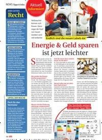 Titelbild der Ausgabe 11/2021 von Tipps & Infos: Endlich sind die neuen Labels da! Energie & Geld sparen ist jetzt leichter. Zeitschriften als Abo oder epaper bei United Kiosk online kaufen.