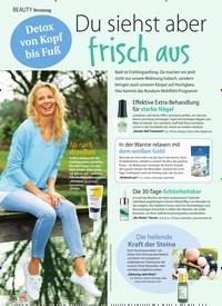 Titelbild der Ausgabe 11/2021 von Beratung: Detox von Kopf bis Fuß: Du siehst aber frisch aus. Zeitschriften als Abo oder epaper bei United Kiosk online kaufen.