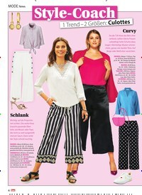 Titelbild der Ausgabe 13/2021 von News: Style-Coach. Zeitschriften als Abo oder epaper bei United Kiosk online kaufen.